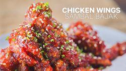 Resep Chicken Wings Sambal Bajak