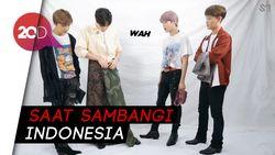 Lokal Banget! NCT 127 Jajal Pakai Sarung sampai Nari Poco-poco