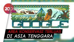 Melihat Taman Nasional Lorentz yang Dirayakan Google Doodle