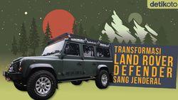 Tampilan Baru Mobil Land Rover Defender