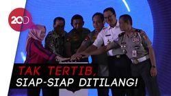 Tilang Elektronik di Jakarta Ditambah 48 Kamera Tahun 2020