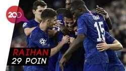 Kalahkan Aston Villa, Chelsea Tembus 4 Besar