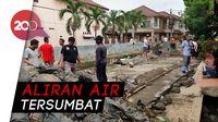 Tanggul Kali Cakung Bekasi Jebol Gegara Sampah