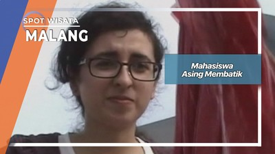 Mahasiswa Asing Membatik, Malang