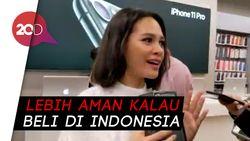 Andien Pilih Beli iPhone 11 Pro Max Resmi di Indonesia
