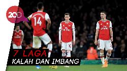 Arsenal, Kok Ketagihan Puasa Kemenangan?