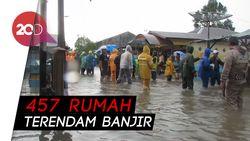 Banjir Rendam Ratusan Rumah di Belitung