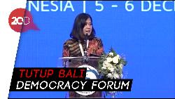 Di BDF, Meutya Hafid Bicara Peran Perempuan di Negara Berdemokrasi