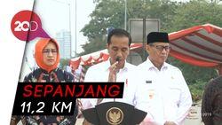 Jokowi Resmikan Tol Kunciran-Serpong