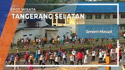 Hidup Sehat Ala Ibu-Ibu Senam Situ Gintung Tangerang Selatan
