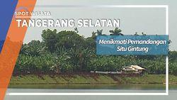 Pemandangan Situ Gintung Tangerang Selatan
