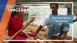 Budidaya Ikan Di Situ Gintung Tangerang Selatan