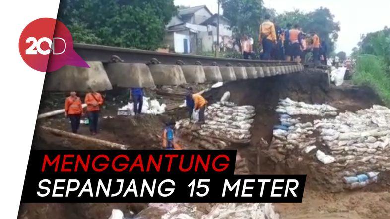 Jalur KA Sukabumi-Bogor Longsor, Perjalanan Dibatalkan