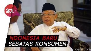 Maruf Amin Dorong Indonesia Jadi Produsen Produk Halal Terbesar Dunia