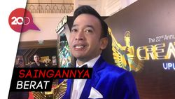 Ruben Onsu Nggak Nyangka Dapat Penghargaan Presenter Terfavorit Lagi