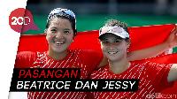 Tenis Ganda Putri Indonesia Sabet Medali Emas SEA Games
