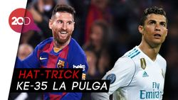 Hat-trick Lagi, Messi Kini Lampaui Rekor Ronaldo