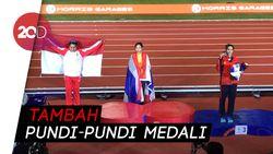 Maria Londa Sumbang Perak untuk Indonesia