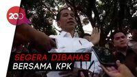 Jokowi Bahas Strategi Pemberantasan Korupsi