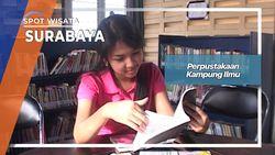 Perpustakaan Kampung Ilmu Jalan Semarang, Surabaya
