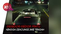 Viral Video Cekcok Sopir Travel dan Sopir Mobil Mewah di Pramban