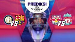 PSSI: Champion League Inter Milan Vs Barcelona dan Salzburg Vs Liverpool