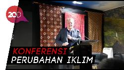 Al Gore Bicara Soal Iklim di Pavilun Indonesia