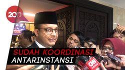 Jelang Nataru, Anies Jamin Stok Pangan di DKI Aman