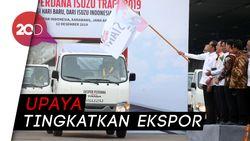 Jokowi Lepas Ekspor Perdana 6.000 Mobil Pikap ke Filipina