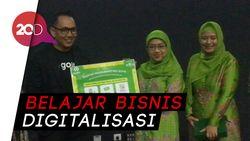 Kilas Balik Setahun Gojek Melatih Ibu-ibu Muslimat NU