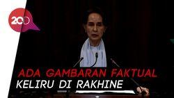 Pembelaan Suu Kyi di Mahkamah Internasional