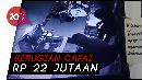 Pembobol Minimarket Terekam CCTV, Coklat Hingga Pakaian Dalam Raib