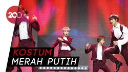NCT Dream Panaskan Panggung HUT ke-18 Transmedia Lewat GO