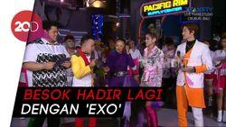 Wali hingga Siti Badriah Tutup HUT ke-18 Transmedia Sambil Bergoyang