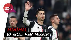 Rekor Ronaldo yang Belum Pernah Dicapai Messi