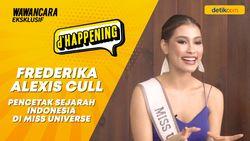 Frederika Alexis Cull, Pencetak Sejarah Indonesia di Miss Universe