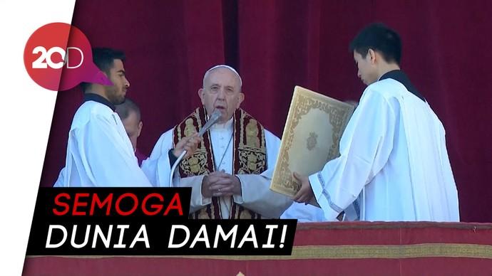 Pesan Perdamaian Paus Fransiskus di Hari Natal
