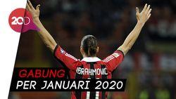 Ibrahimovic dan AC Milan Resmi Balikan