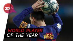 Messi Kembali Jadi yang Terbaik di Dunia