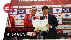 Sah! Shin Tae-yong Jadi Pelatih Timnas Indonesia