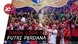 Tekuk PS Tira, Persib Juara Liga 1 Putri 2019