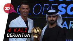 CR7 Tutup 2019 dengan Raih Globe Soccer Award