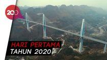 2020, Jembatan Tertinggi di China Akan Beroperasi