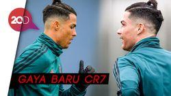 Mau Lihat Rambut Ronaldo Dikuncir?