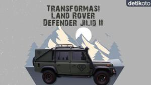 Modifikasi Mobil Perang Land Rover Defender