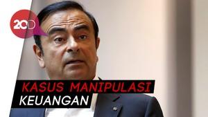 Mantan Bos Nissan Carlos Ghosn Diburu Interpol