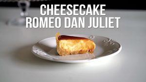 Resep Cheesecake Romeo dan Juliet