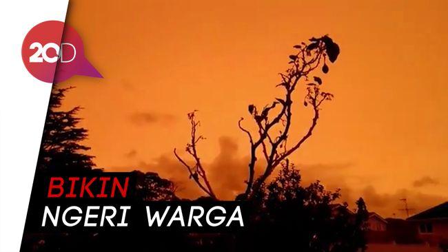 Langit di Selandia Baru Jadi Oranye Akibat Kebakaran Australia