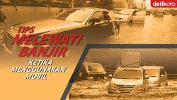 Tips Bagi Pengendara Mobil Ketika Melewati Banjir