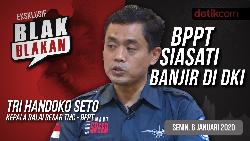 Tonton Blak-blakan BPPT Siasati Banjir di DKI